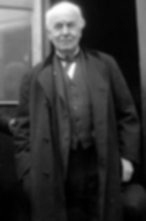 Thomas Edisn in a Suit