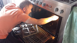 Oven Cleaning Direct Technician