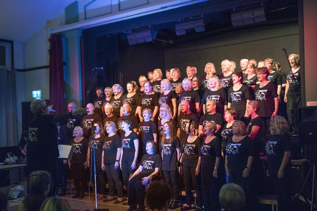 Penrith choir giving their all