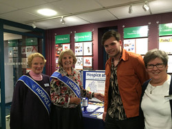 Jolan & ladies from Hospice at Home
