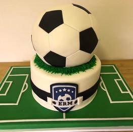 Soccer Bar Mitzvah Cake