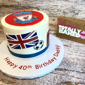 British Cake Liverpool FC