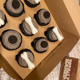 Dog BOne Cupcakes