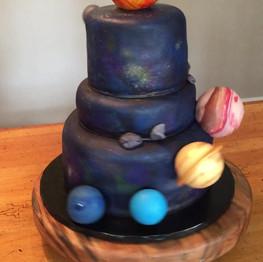 Bar Mitzvah Space Cake
