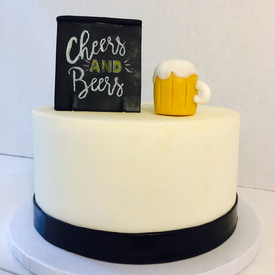Cheers and Beers Cake