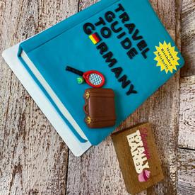 Travel Book Cake
