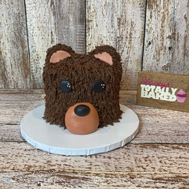 Bear Smash Cake