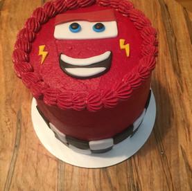 cars Smash Cake