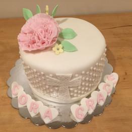 Baptism Cake Girl
