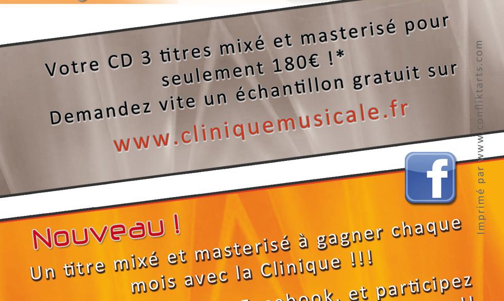 FLYER CLINIQUE MUSICALE