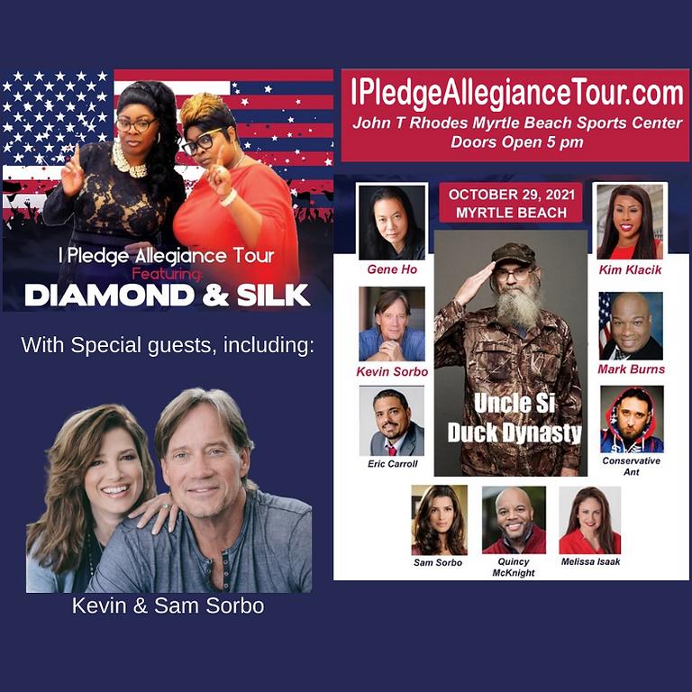I Pledge Allegiance Tour Featuring Diamond and Silk