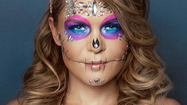 Halloween Makeup and Skeleton Shading with Samara Nilsson