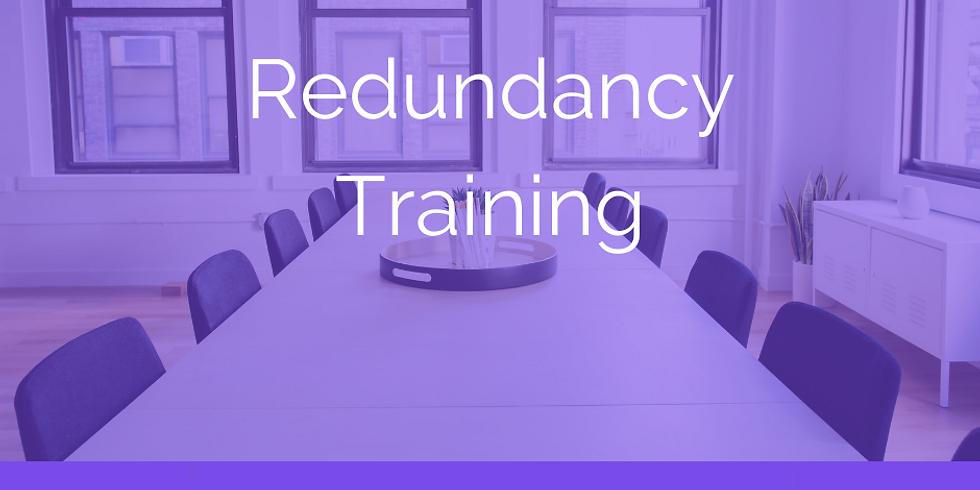 Redundancy Training