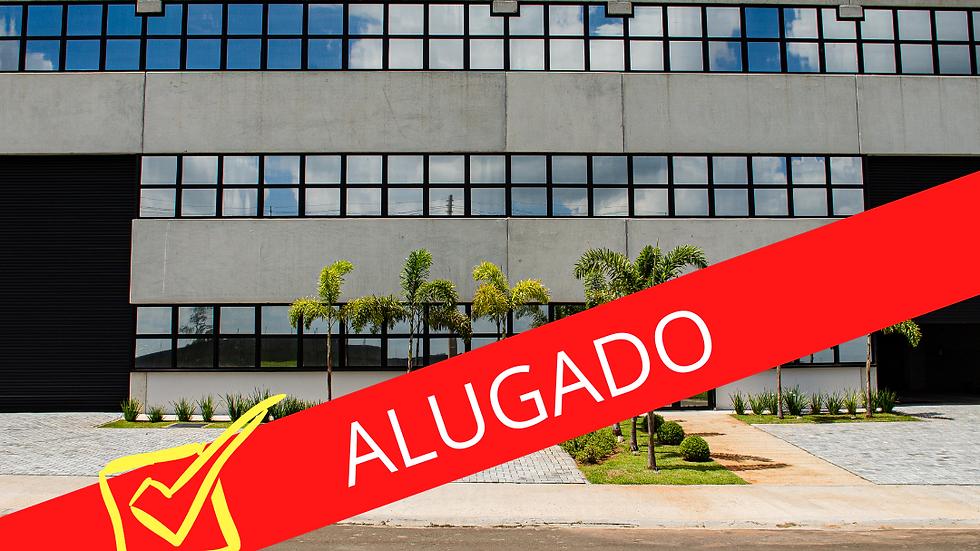 ALUGADO - Galpão Novo -  1.760 m2