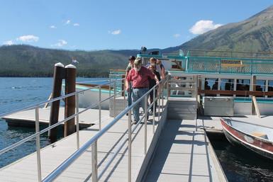 glacier boating