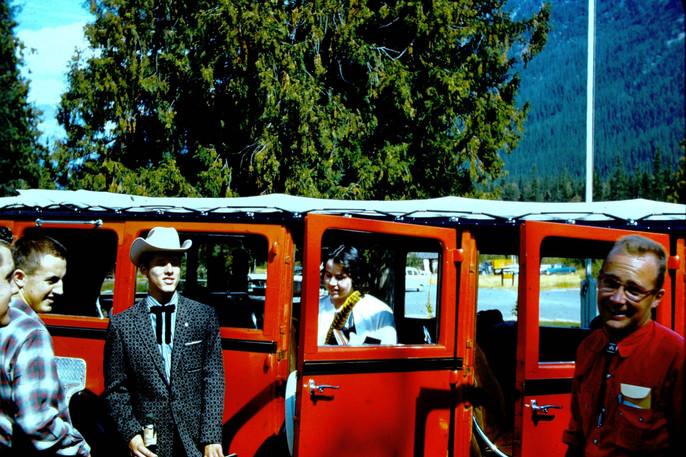 Glacier National Park coach