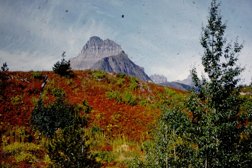 Fall in Glacier