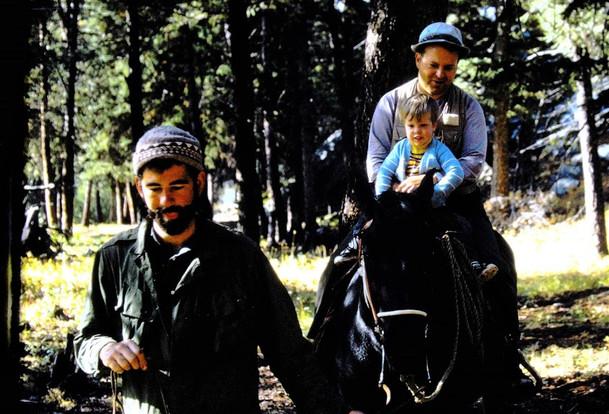 horseback in Yellowstone