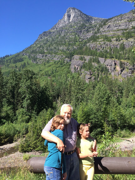 glacier grandkids