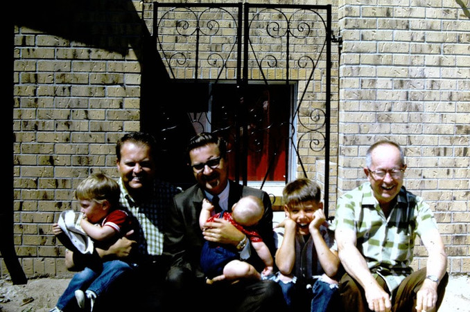 texas family including brother Bob and John's father