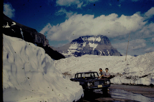 snow in Glacier