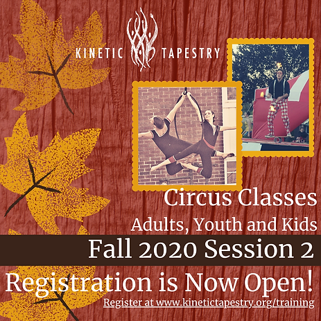 Fall 2020 Session 2 Registration is Now