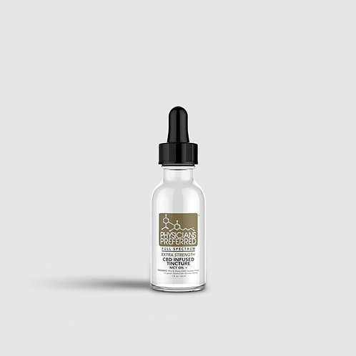 Isolate 1000mg Extra Strength CBD Tincture