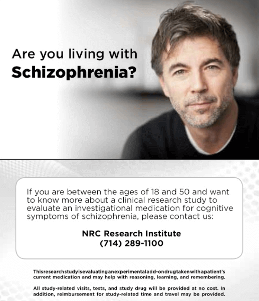 Schizophrenia-clinical-trials