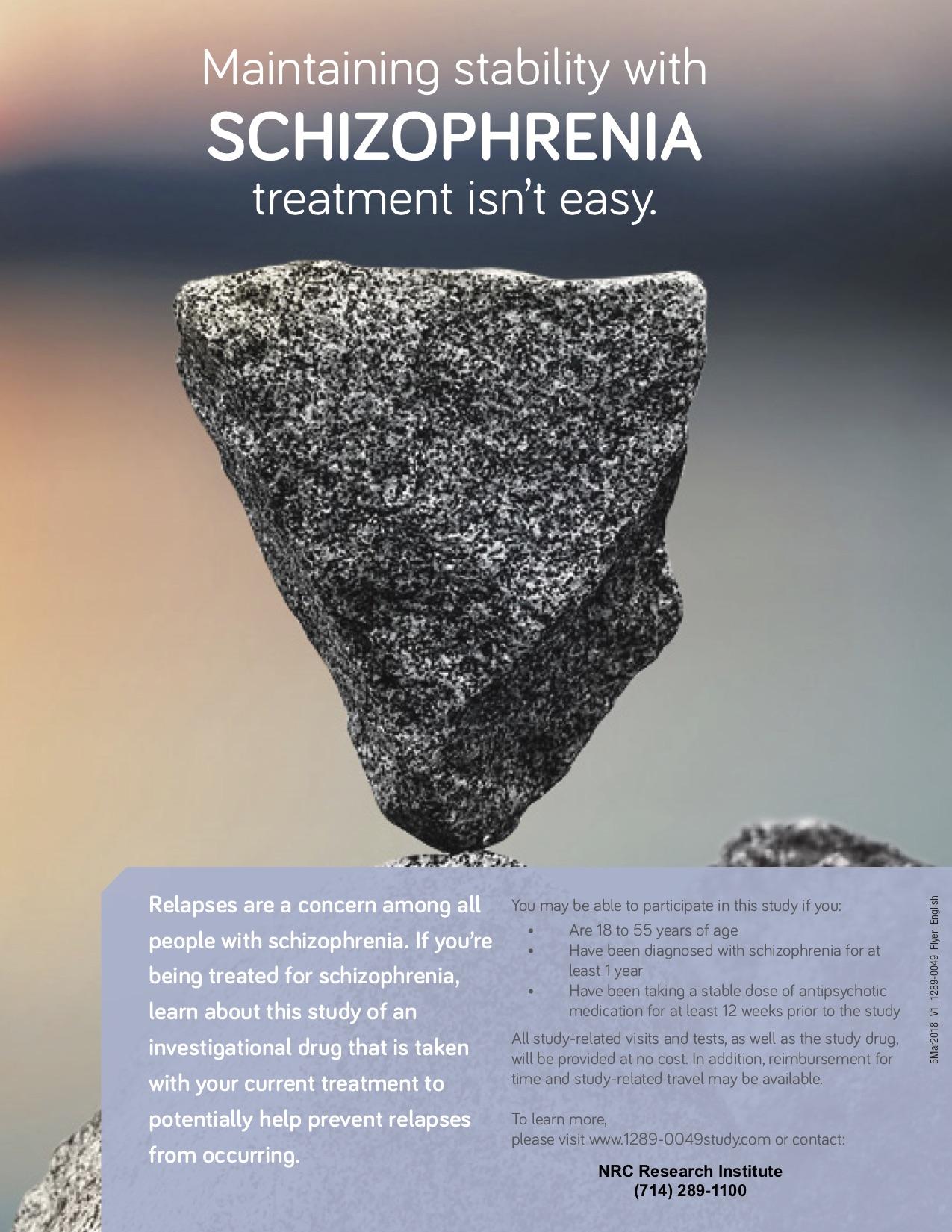 Schizophrenia-clinical-trials-study