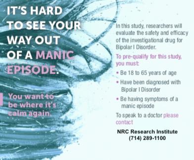Bipolar-Mania-clinical-trials