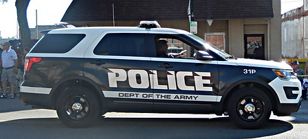Army security police vehicle