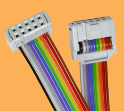 Flasher ST7の標準リボンケーブル