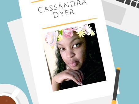 Cassandra Dyer Q & A