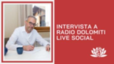 Intervista a Radio Dolomiti