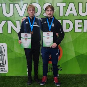 Dubbla brons på Vilnius Open