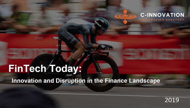 Innovation and Disruption In the Financi
