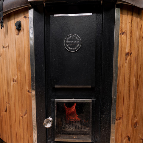 Wood Fired Stove to Hot Tub