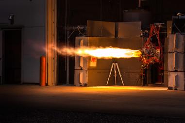 Ursa Major Tech Rocket Engine Hot Fire Test