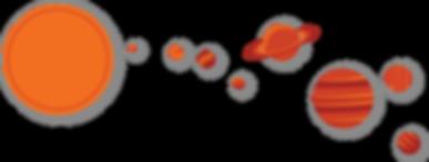 Ursa Major Technologies Planets Space Design Aerospace Graphics Retro