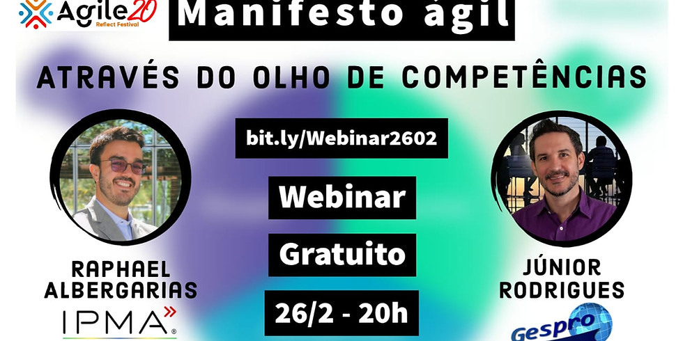 Webinar - Manifesto Ágil através do Olho de Competências