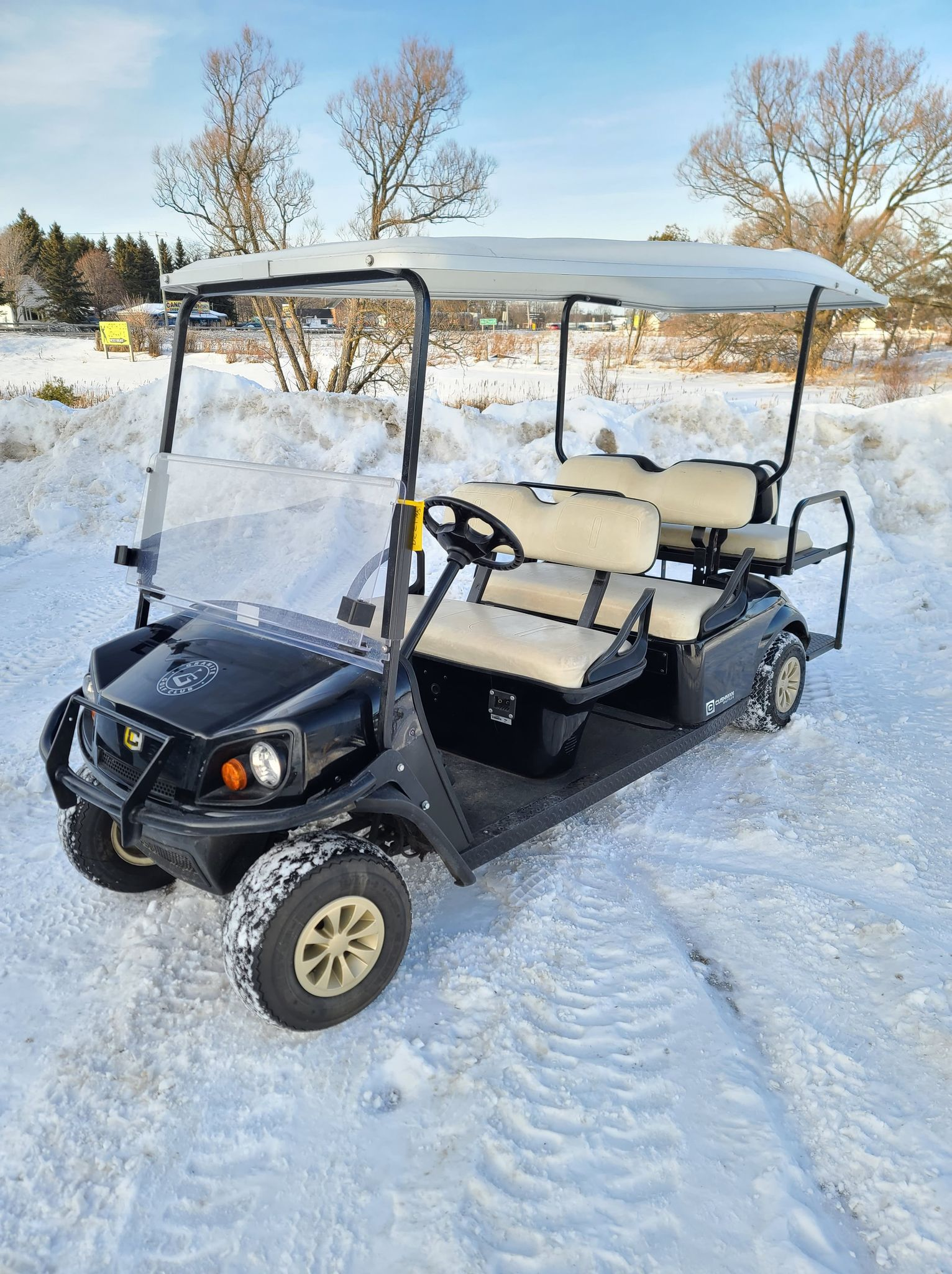 Cushman Shuttle 6 Electric