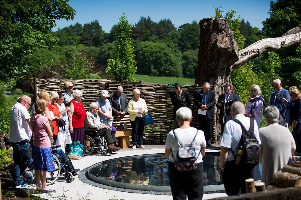 Erskine Centenary Garden official opening