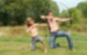 Vater&Sohn Urlaub in der Wildnis
