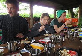 Frühstück in Wilderland