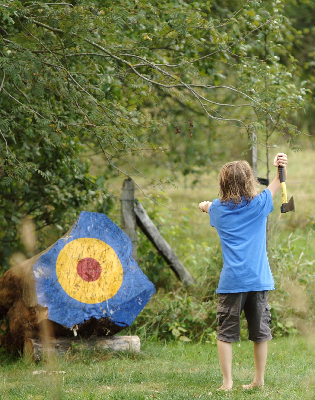 Abenteuer Wildnis Camp Kinder Ferien