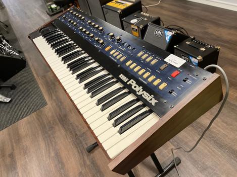 Beg. KORG PolySix analog synth. 12995:-