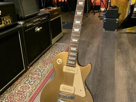 Gibson Les Paul Tribute '60 Gold top, P-90 (2011). SÅLD!