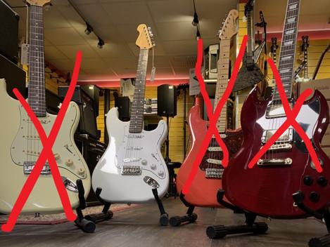 Vintage gitarrer bonanza! 2595:-