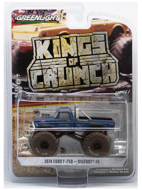 GL 1974 Ford F-250 Bigfoot #1 Kings of Crunch
