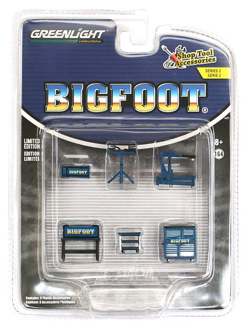 GL Bigfoot Monster Truck Shop Tool Accessories Pack